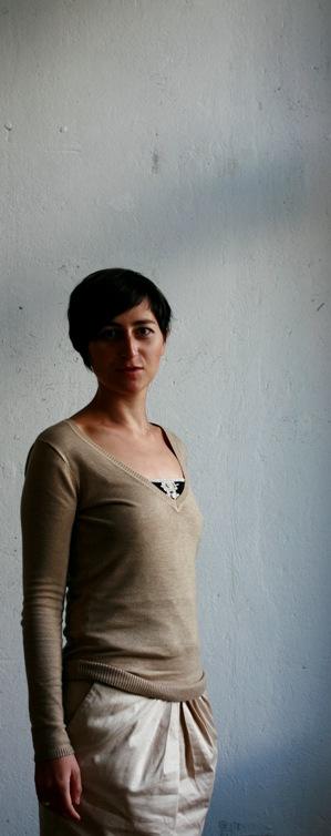 Ulrike Almut Sandig, copyright by Tanja Kernweiss